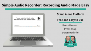 Simple Audio Recorder