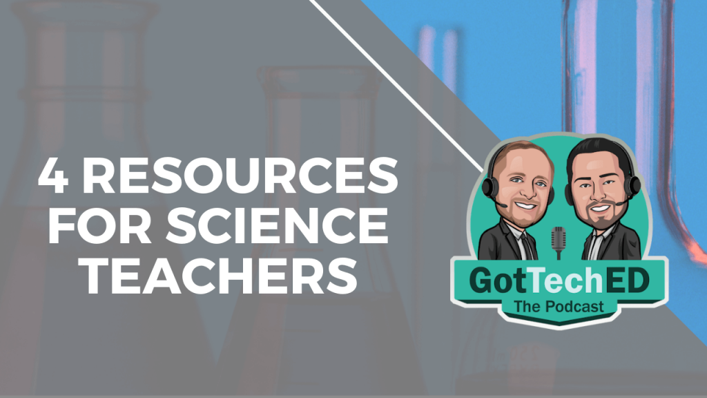 4 resources for science teachers