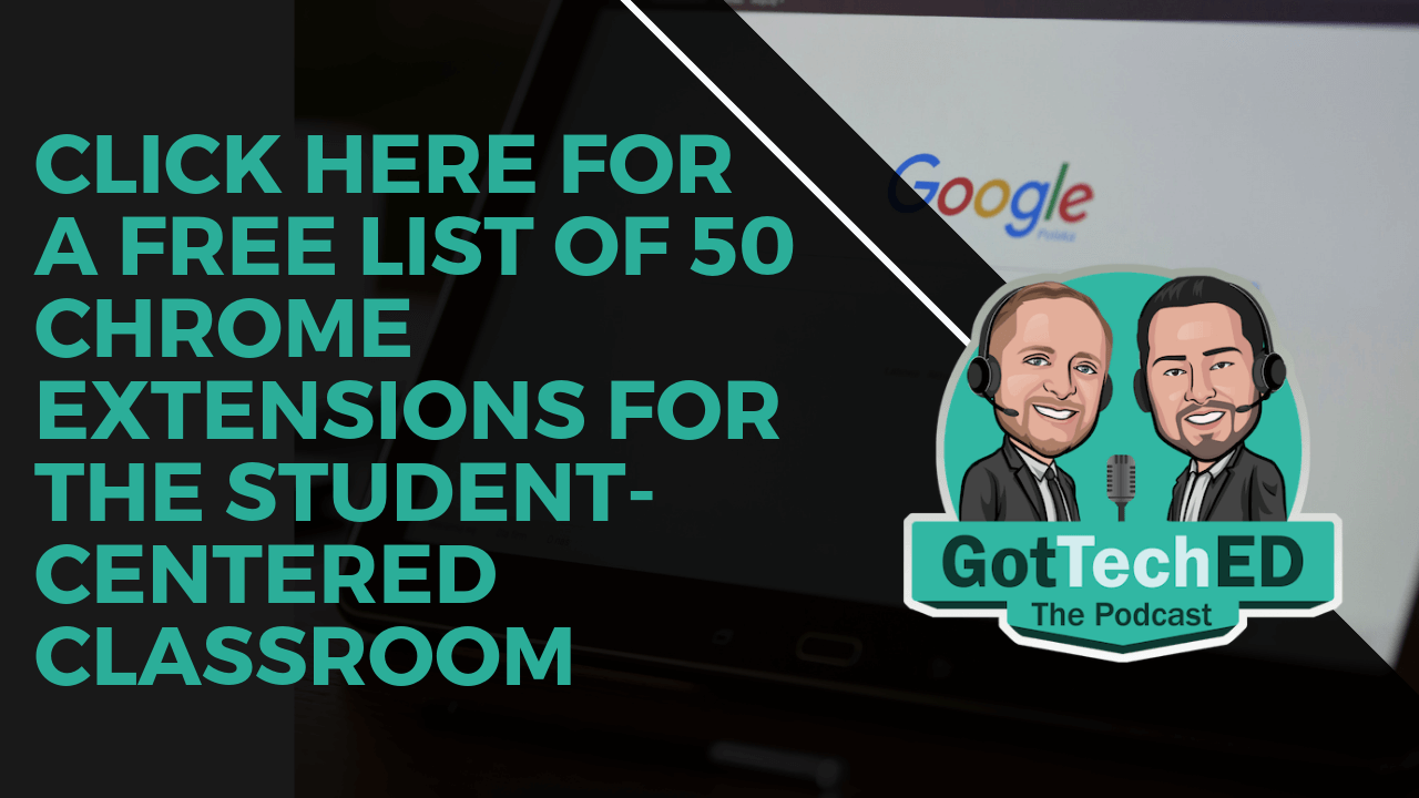 50 Student Centered Extensions List