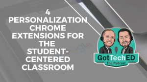 Personalization Chrome Extensions